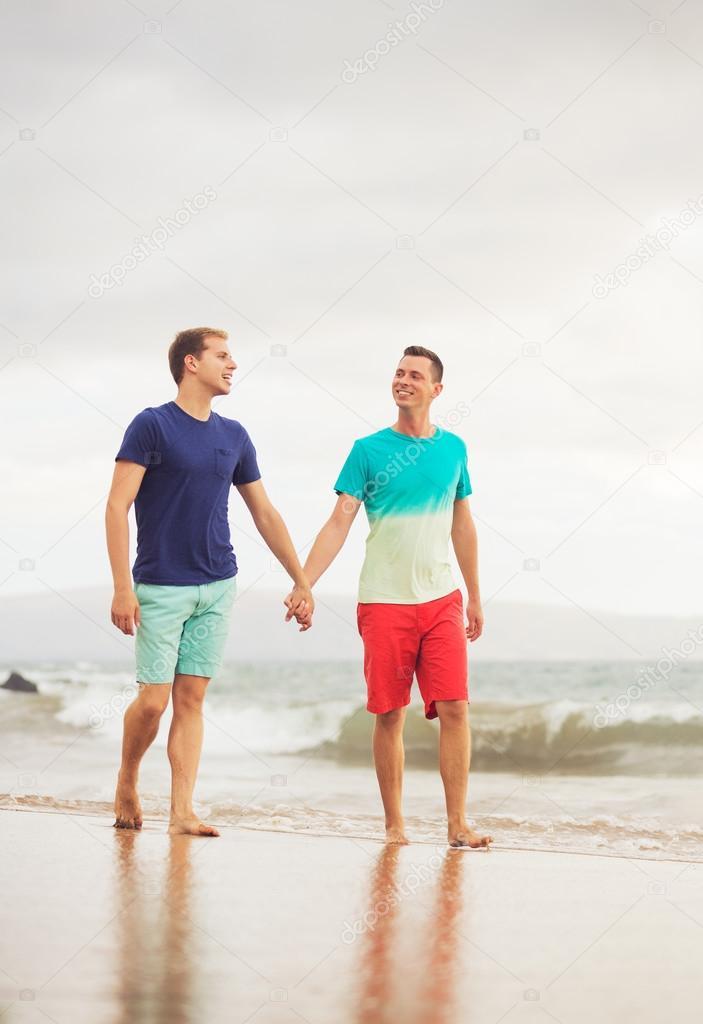 gay videos on beach