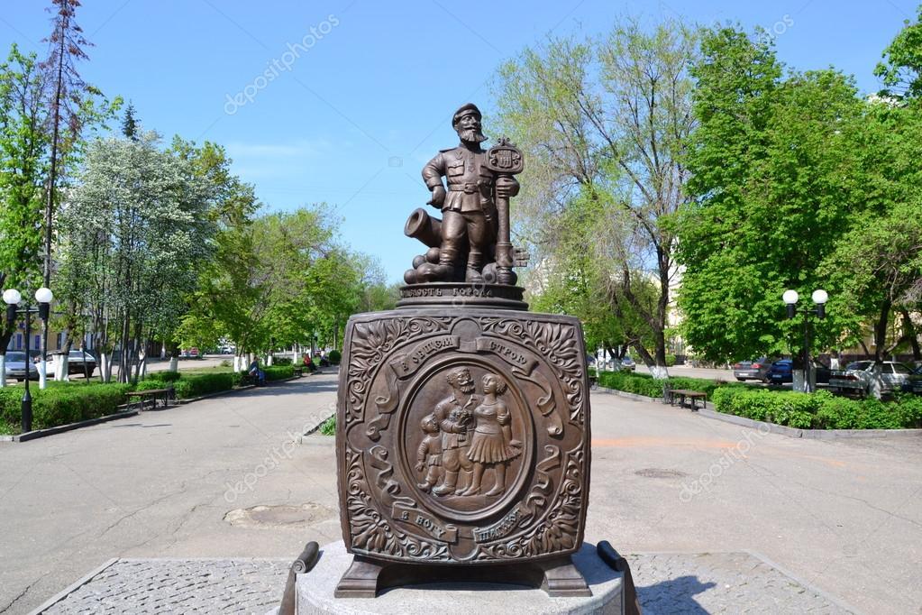 russische spreuken een monument voor Russische folk spreuken — Stockfoto © maikal777  russische spreuken