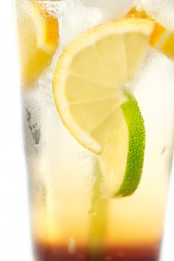 Delicious cold lemonade