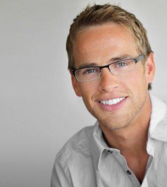 Glasses man
