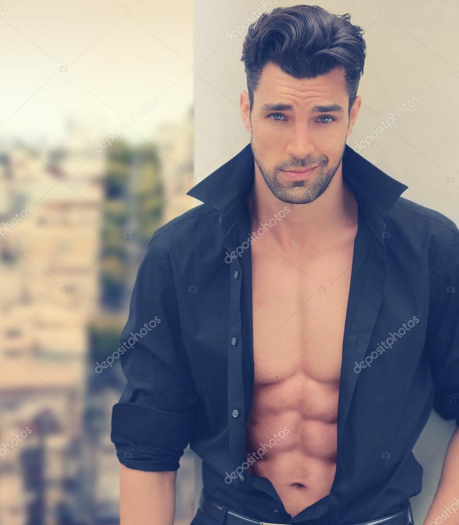 Hot romantic guy