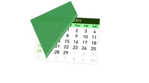 Kalendář máchal přes měsíce v roce