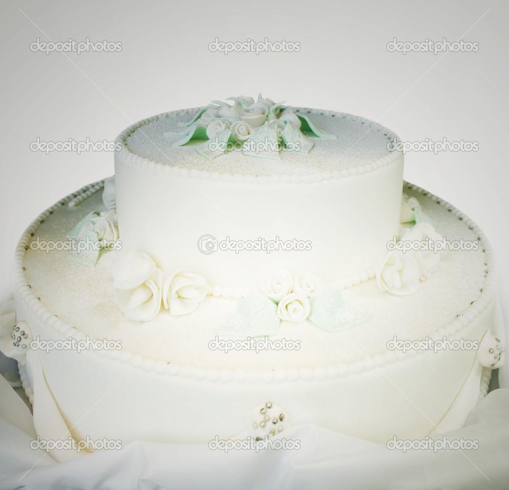 Hochzeitstorte Stockfoto 13865120