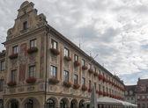 Fotografie typisch deutsche Haus in memmingen
