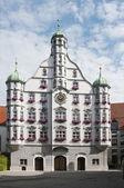 Fotografie Parlement Gebäude in memmingen