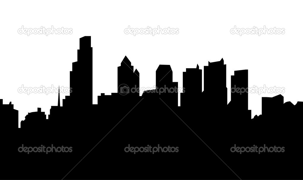philadelphia skyline stock photo compuinfoto 28523161 rh depositphotos com  philadelphia skyline outline vector