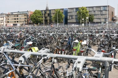 bikes in holland