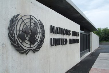 Building of the United Nations in Geneva (Switzerland)