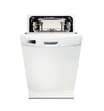 Modern dishwasher isolated