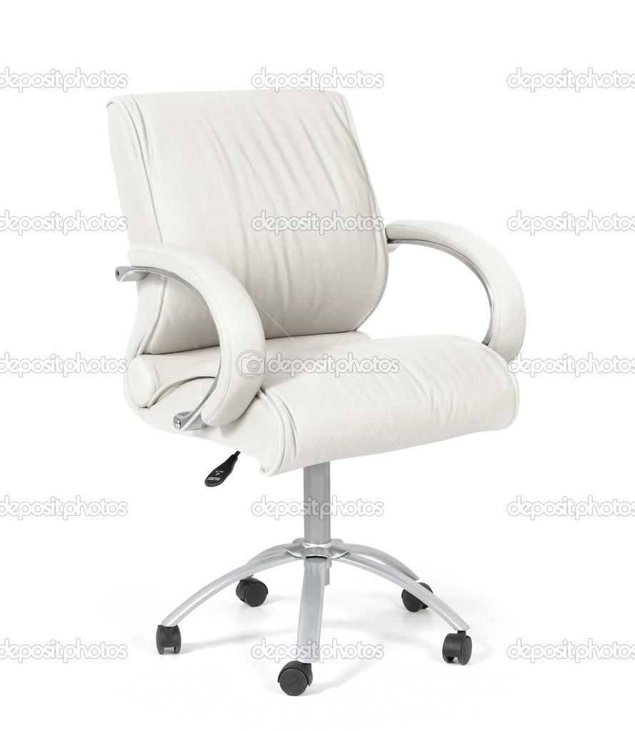 Ozaiachinn Cuero La Oficina Blanco Silla © — Fotos De Stock W2E9HID