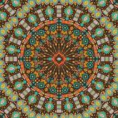 okrasná kola aztécký geometrickým vzorem, kruh pozadí s mnoha detaily