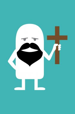Animated personality pastor