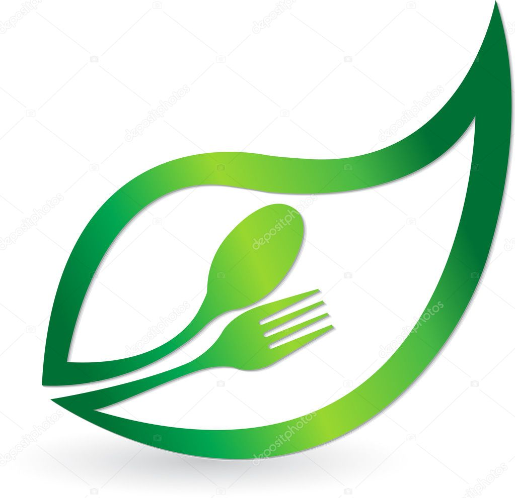 Herbal food logo