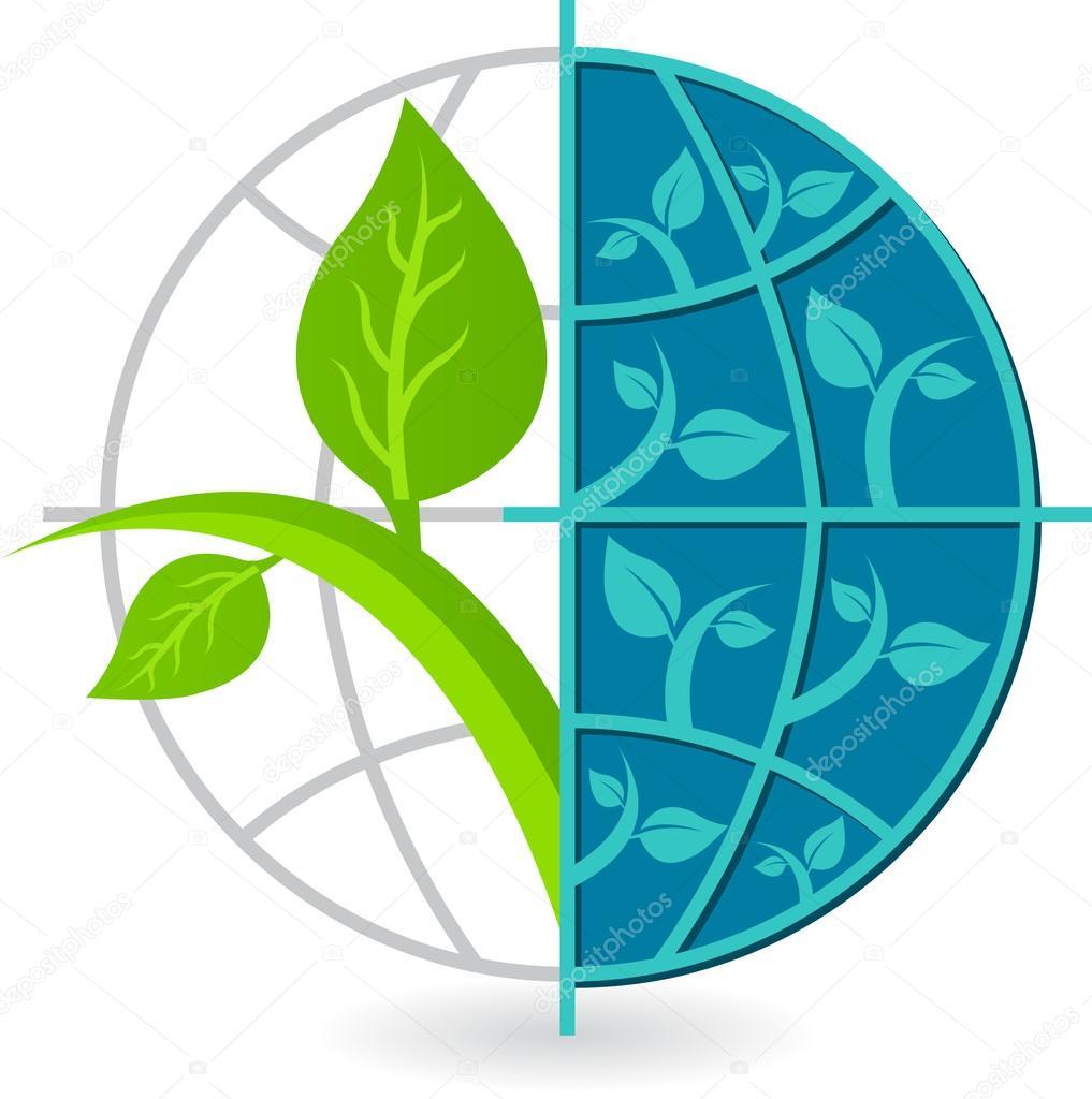 Globe tree logo