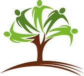 Fotografie Logo menschlicher Bäume