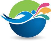 Fényképek Úszás logó