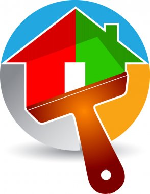 Home paint logo