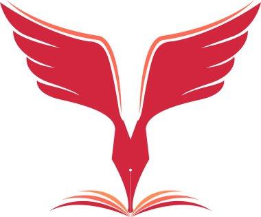 Fly pen logo