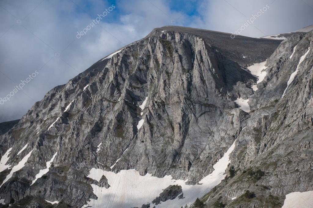 Mount Olympus, tallest mountain on Greece