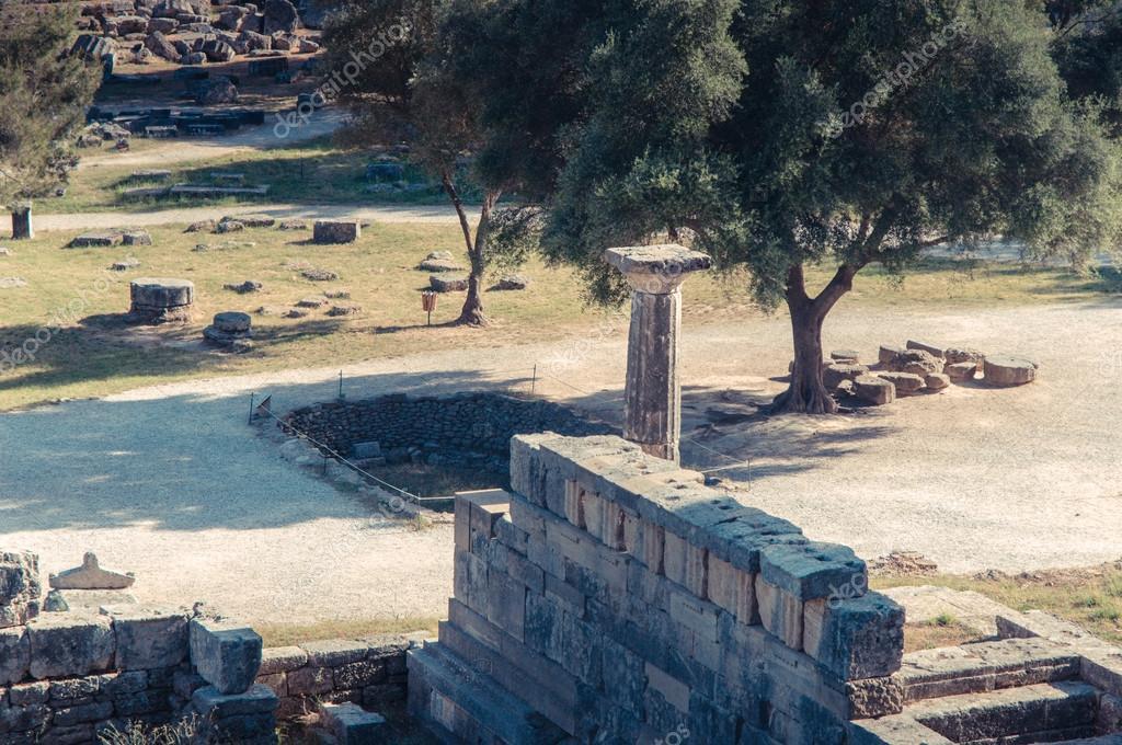 Fotos Juegos Olimpicos Grecia Olimpia Sitio De Antiguos Juegos
