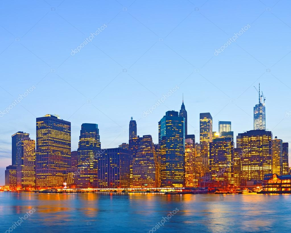 edificios centro de la ciudad de nueva york usa u fotos de stock