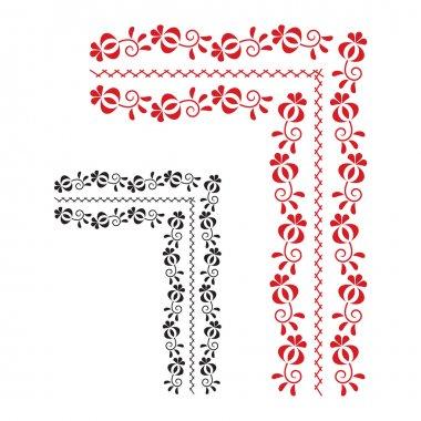 """Картина, постер, плакат, фотообои """"Традиционный народный орнамент"""", артикул 30470211"""