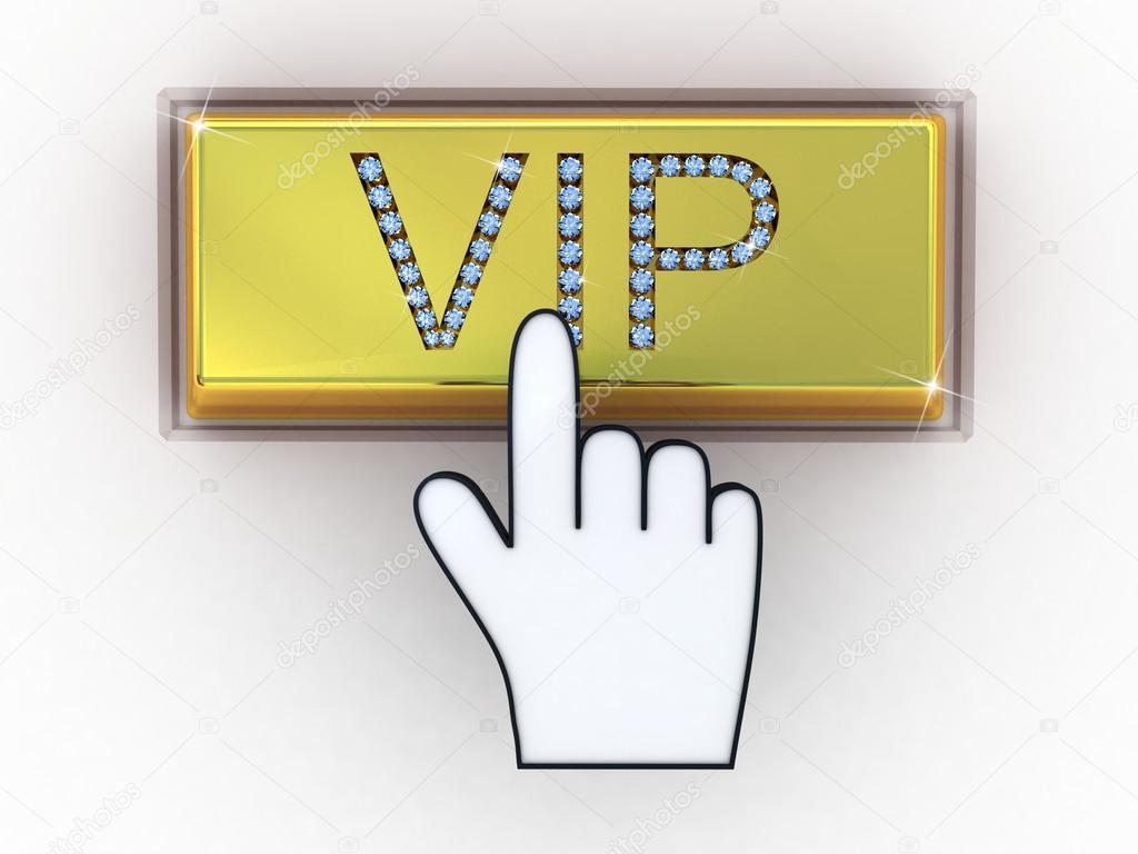 VIP gold letters on keyboard — Stock © Daniilantiq