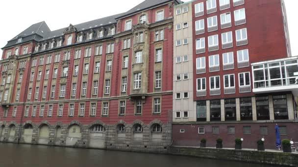 Gebäude in Hamburg-Deutschland