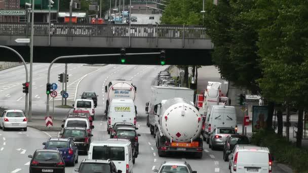 Verkehr und Straße von Hamburg