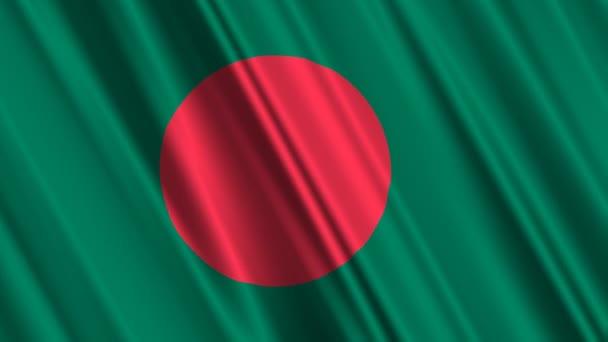 mávání vlajkami Bangladéš