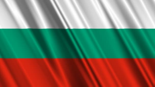 Bulgaria flag waving