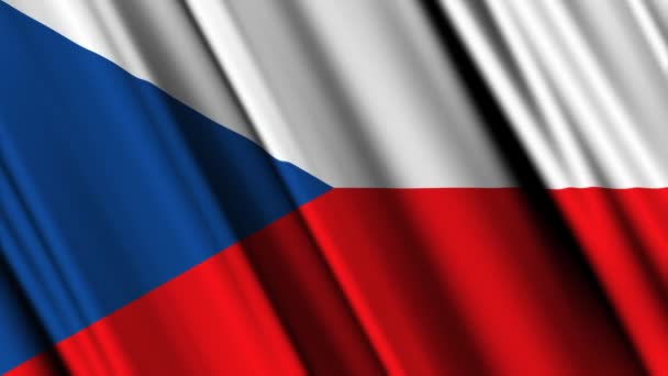 Česká republika vlajka mávání