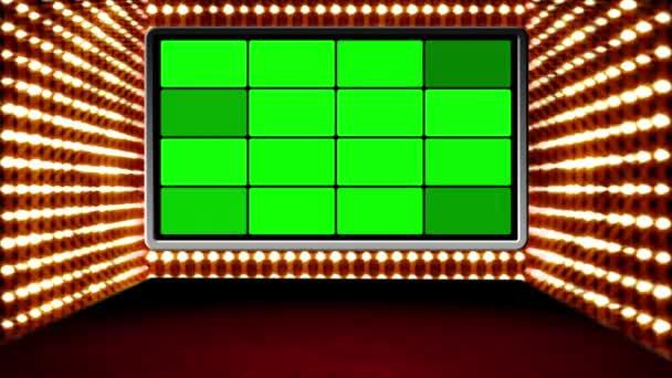 zelená obrazovka box design kouzlo virtuální studio