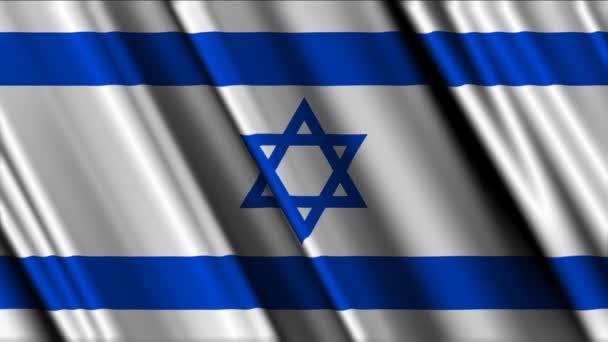mávání vlajkami Izraele