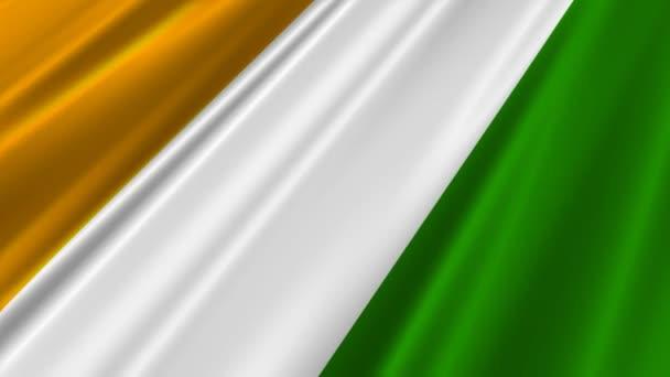 mávání vlajkami Pobřeží slonoviny