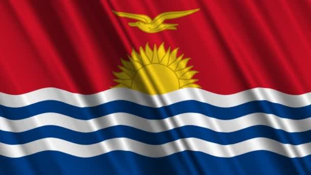 mávání vlajkami Kiribati