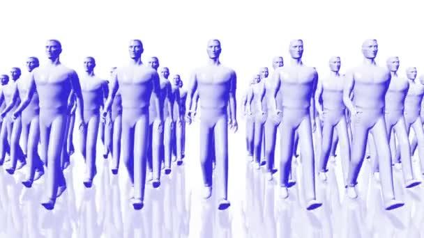 Männer zu Fuß Geschäftskonzept - Führung Teamwork