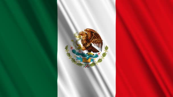 mávání vlajkami Mexiko