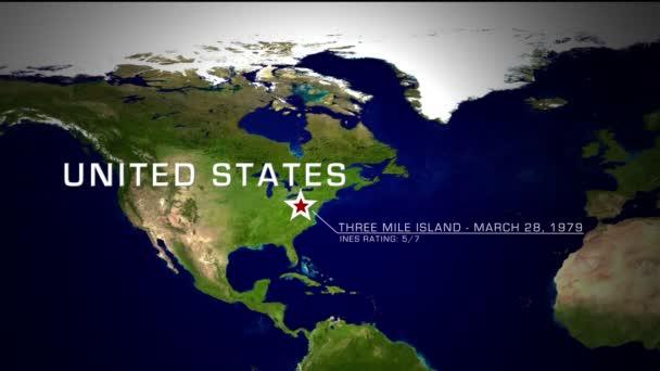 Three Mile Island, Amerikai Egyesült Államok nukleáris katasztrófa
