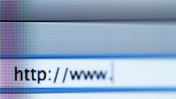 Zadejte webové adresy