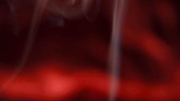 Füst a piros-fekete háttér