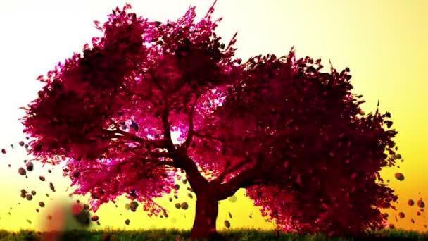 Mágikus cseresznyefa, 3d render