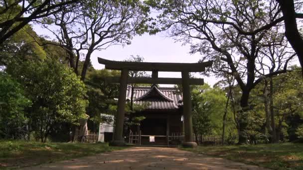 svatyně v japonské zahradě