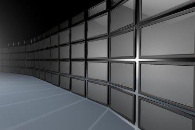 Big Screen Monitor Wall