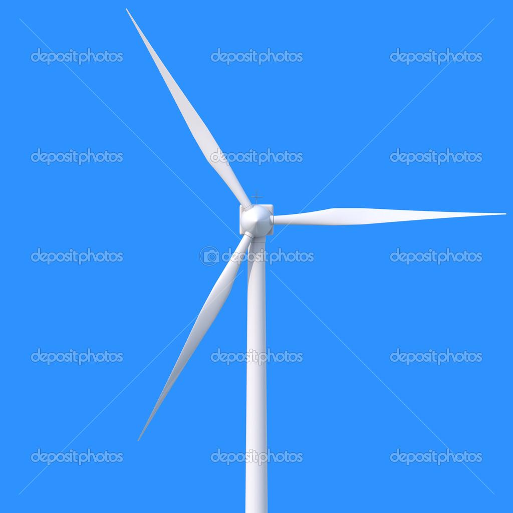 a87cb7f41bb gerador de energia eólica — Fotografias de Stock © tom.griger  36468263