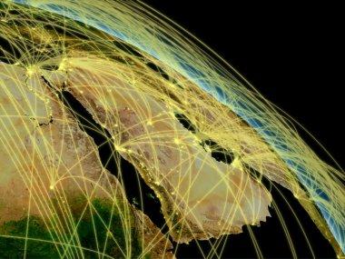 Arabian peninsula network
