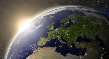 Sun over Europe