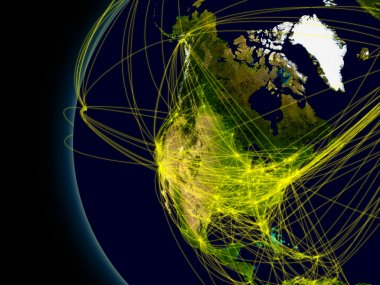 North America connections