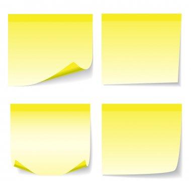 Yelow sheet of paper