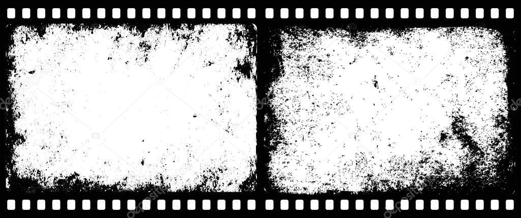 кисть для фотошопа в виде перфорации фотоплёнки